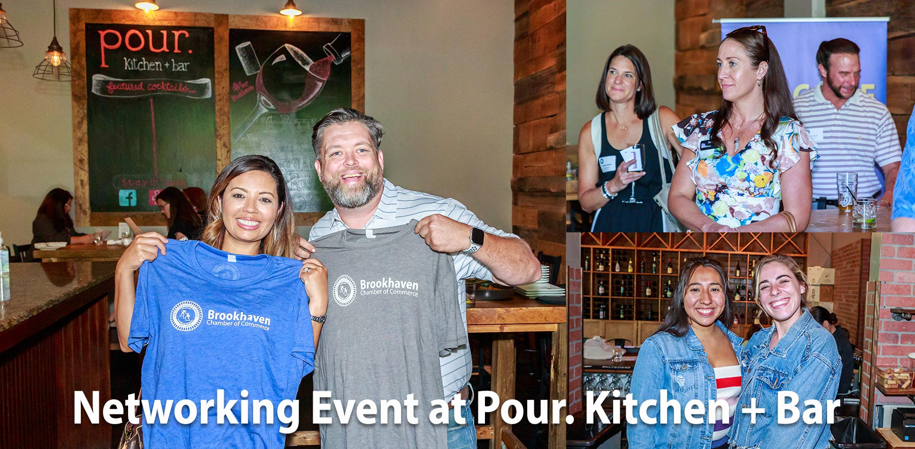 Networking event on Thursday, June 17, 2021 at Pour Kitchen + Bar