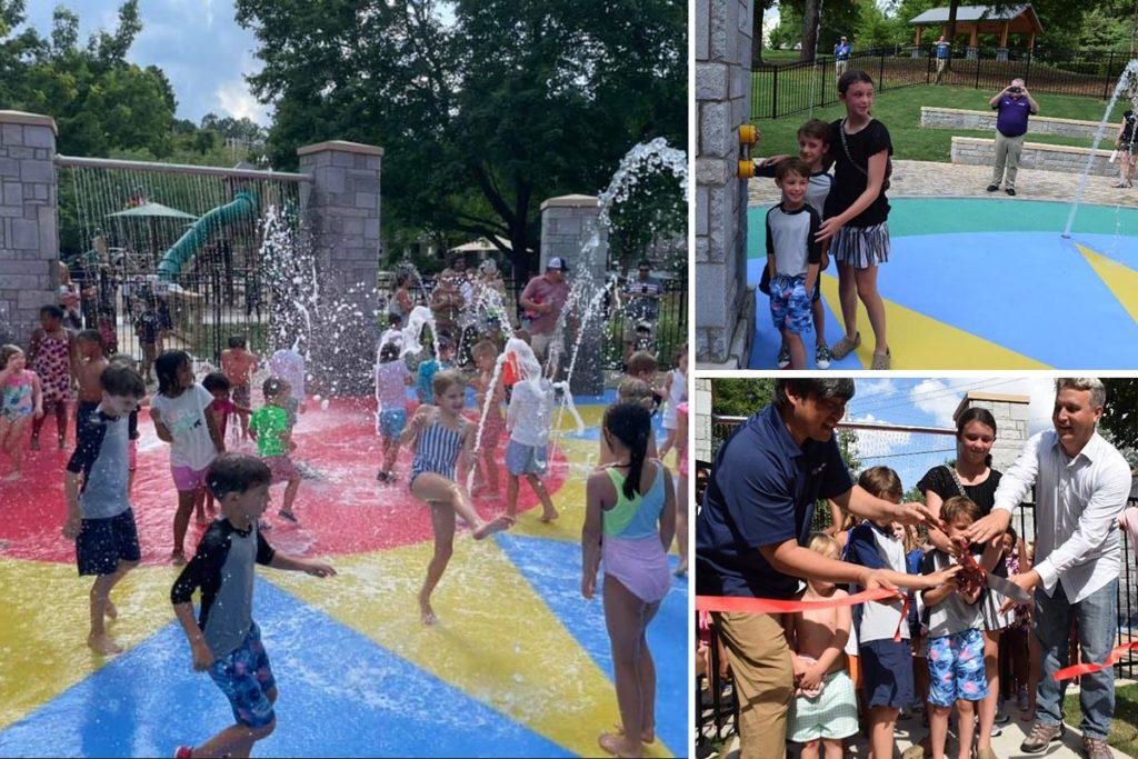 Ashford Park Splash Pad now open