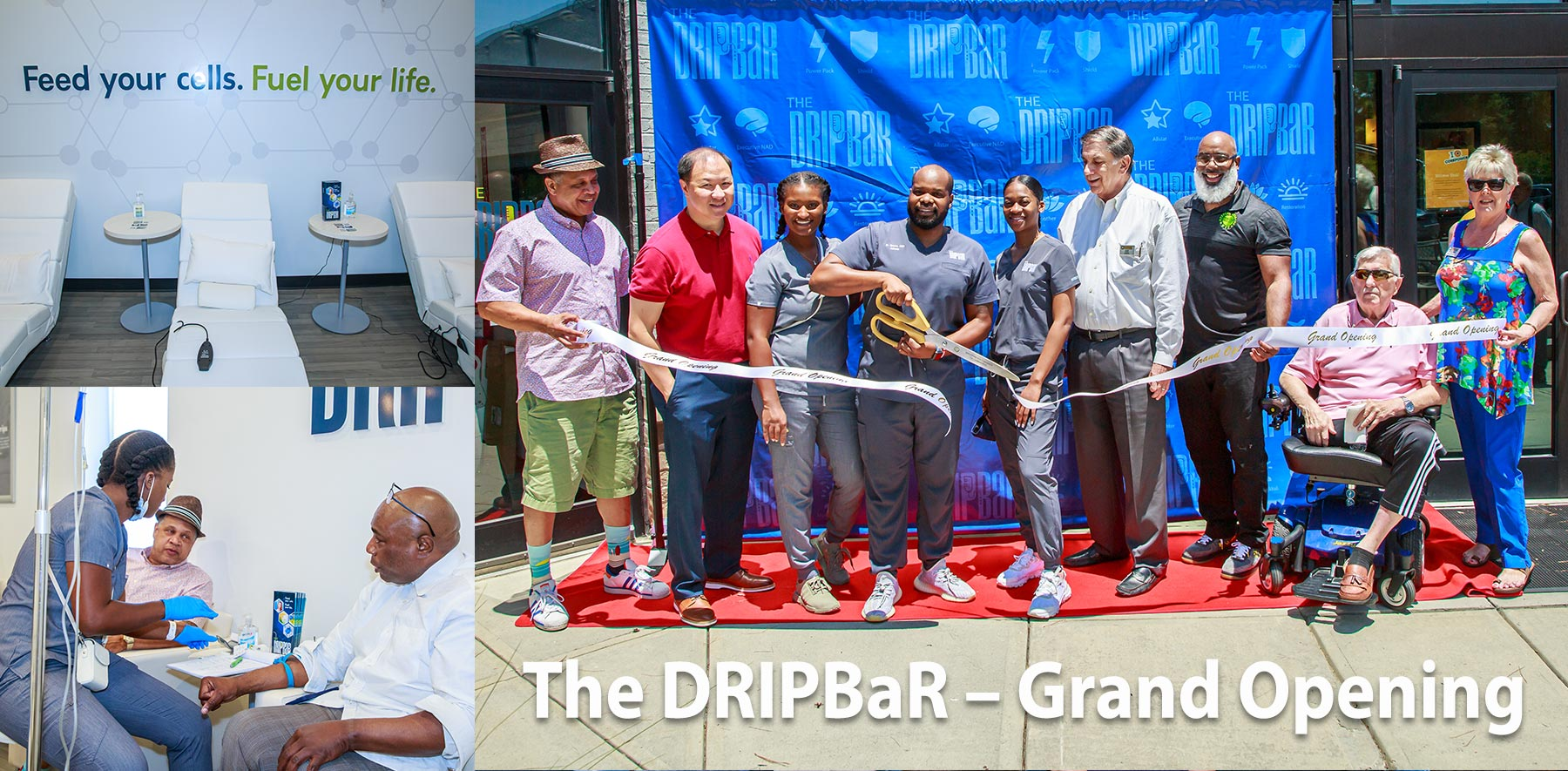 Grand Opening: The DRIPBaR of Atlanta can give your body a boost in just 5 min with one of its seven IM Quick Shots!.