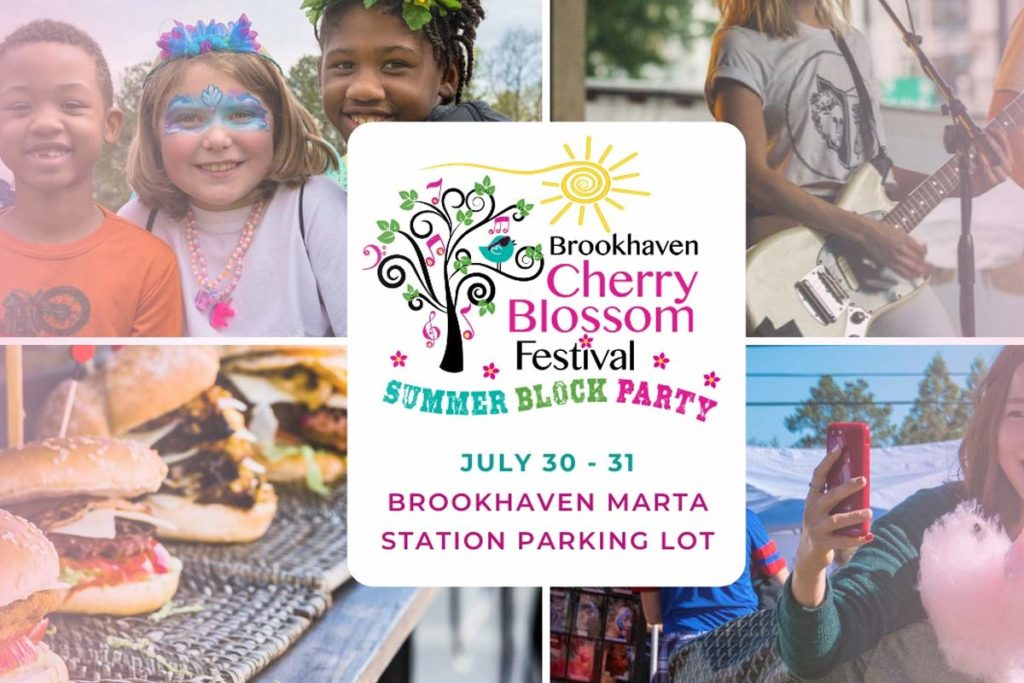 Brookhaven Summer Block Party / Cherry Blossom Festival / Budweiser Clydesdales
